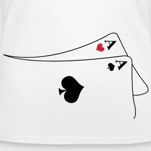 pocket aces T-shirts - Vrouwen T-shirt