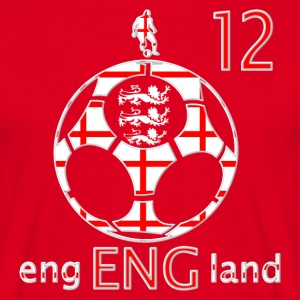 England Saint George football 12 men's t-shirt - Men's T-Shirt
