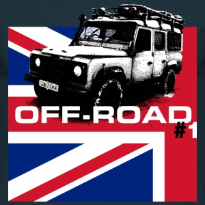 LR Union Jack off-road - Autonaut.com - Men's T-Shirt