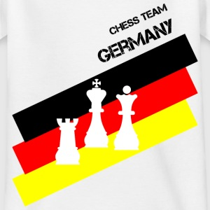 Schach Chess Team Germany Teenager - Teenager T-Shirt