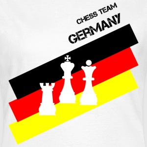 Schach Chess Team Germany Frauen - Frauen T-Shirt