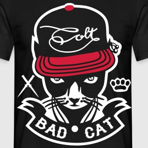 Bad Cat - GeddoCat T-Shirts - Männer T-Shirt