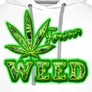 weed forever Sweat-shirts - Sweat-shirt à capuche Premium pour hommes