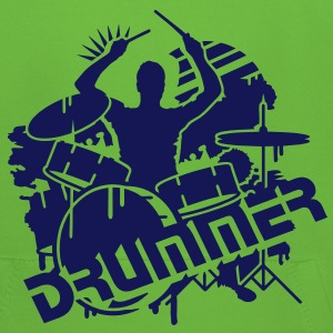 A DRUMMER ON HIS DRUMS Kids' Tops - Kids' Premium Hoodie