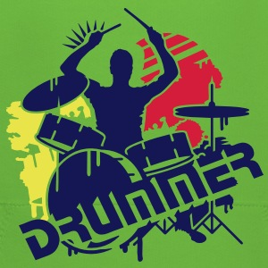 A drummer and his drums Kids' Tops - Kids' Premium Hoodie