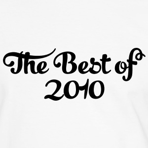 Geburtstag - Birthday - the best of 2010 (sv) T-shirts - Kontrast-T-shirt herr