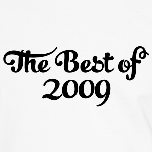 Geburtstag - Birthday - the best of 2009 (nl) T-shirts - Mannen contrastshirt
