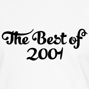 Geburtstag - Birthday - the best of 2001 (fr) Tee shirts - T-shirt contraste Homme
