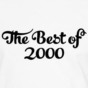 Geburtstag - Birthday - the best of 2000 (es) Camisetas - Camiseta contraste hombre
