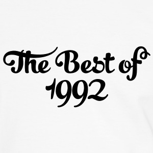 Geburtstag - Birthday - the best of 1992 (es) Camisetas - Camiseta contraste hombre