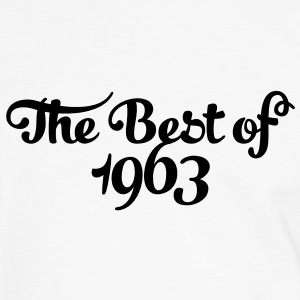 Geburtstag - Birthday - the best of 1963 (es) Camisetas - Camiseta contraste hombre