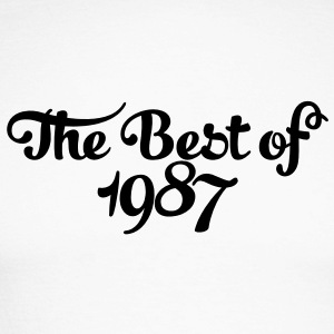 Geburtstag - Birthday - the best of 1987 (uk) Long sleeve shirts - Men's Long Sleeve Baseball T-Shirt