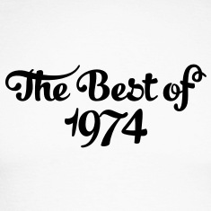 Geburtstag - Birthday - the best of 1974 (uk) Long sleeve shirts