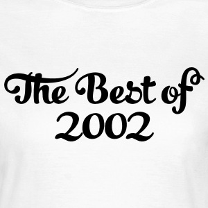 Geburtstag - Birthday - the best of 2002 (de) T-Shirts - Frauen T-Shirt