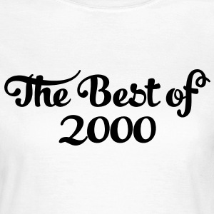 Geburtstag - Birthday - the best of 2000 (uk) T-Shirts - Women's T-Shirt