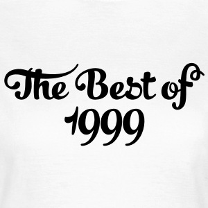 Geburtstag - Birthday - the best of 1999 (es) Camisetas - Camiseta mujer