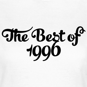 Geburtstag - Birthday - the best of 1996 (es) Camisetas - Camiseta mujer
