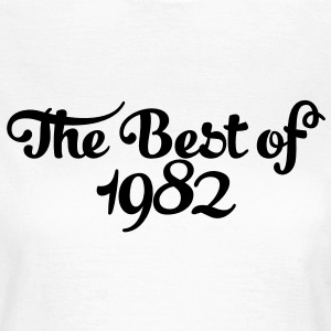 Geburtstag - Birthday - the best of 1982 (es) Camisetas - Camiseta mujer