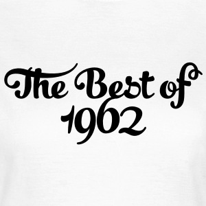 Geburtstag - Birthday - the best of 1962 (es) Camisetas - Camiseta mujer