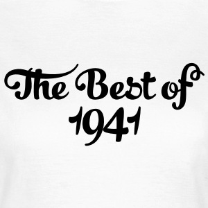 Geburtstag - Birthday - the best of 1941 (fr) Tee shirts - T-shirt Femme