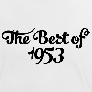 Geburtstag - Birthday - the best of 1953 (sv) T-shirts - Kontrast-T-shirt dam