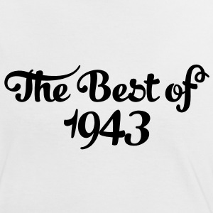 Geburtstag - Birthday - the best of 1943 (sv) T-shirts - Kontrast-T-shirt dam