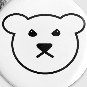 Evil Bear Buttons - Buttons small 25 mm