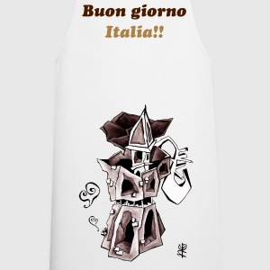 Moka Express Coffee Art - Venice Italy  - Cooking Apron