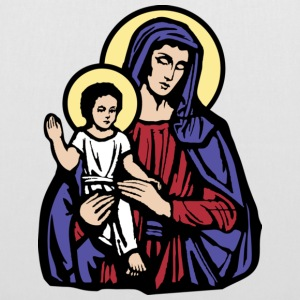 Mary and Jesus - Tote Bag