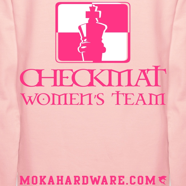 Arte Suave/CheckMat Womens Team Hoodie Pink