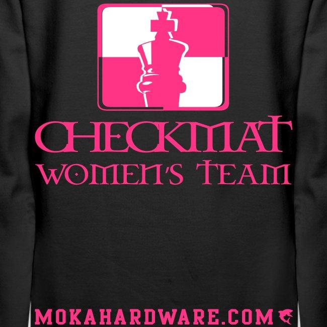 Arte Suave/CheckMat Womens Team Hoodie Black