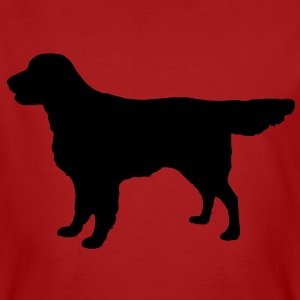 Flatcoat Retriever Dog Camisetas - Camiseta ecológica hombre