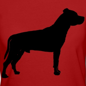 American Staffordshire Terrier Camisetas - Camiseta ecológica mujer