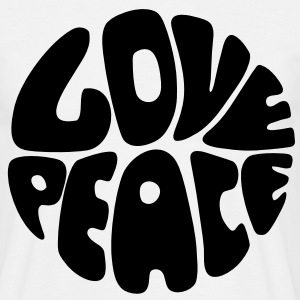 Love & Peace Tee shirts - T-shirt Homme
