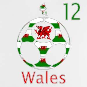 Wales dragon football 12 baby t-shirt - Baby T-Shirt