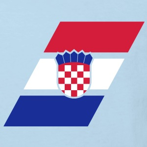 croatia stripe flag Shirts - Kinderen Bio-T-shirt