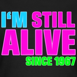 NEON - Birthday - still alive since 1967 (no) T-skjorter - T-skjorte for kvinner