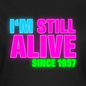 NEON - Birthday - still alive since 1957 (sv) T-shirts - T-shirt dam