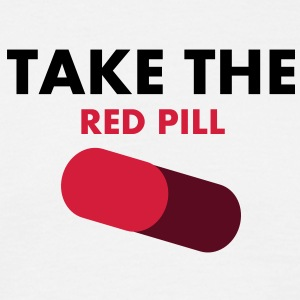 take_the_red_pill Tee shirts - T-shirt Homme