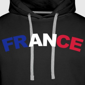 France Sweat-shirts - Sweat-shirt à capuche Premium pour hommes