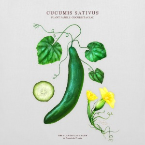 THE PLANTSPLATE FARM - Cucumis Sativus - Stoffbeutel