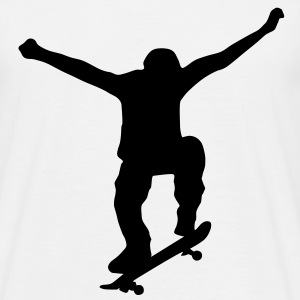 Skater, Skateboarder T-Shirts - T-skjorte for menn