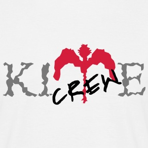 kite_crew_bird_vec_3 en - Men's T-Shirt