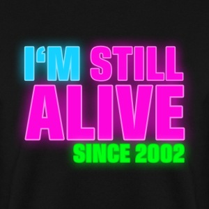 NEON - Birthday - still alive since 2002 (it) Felpe - Felpa da uomo