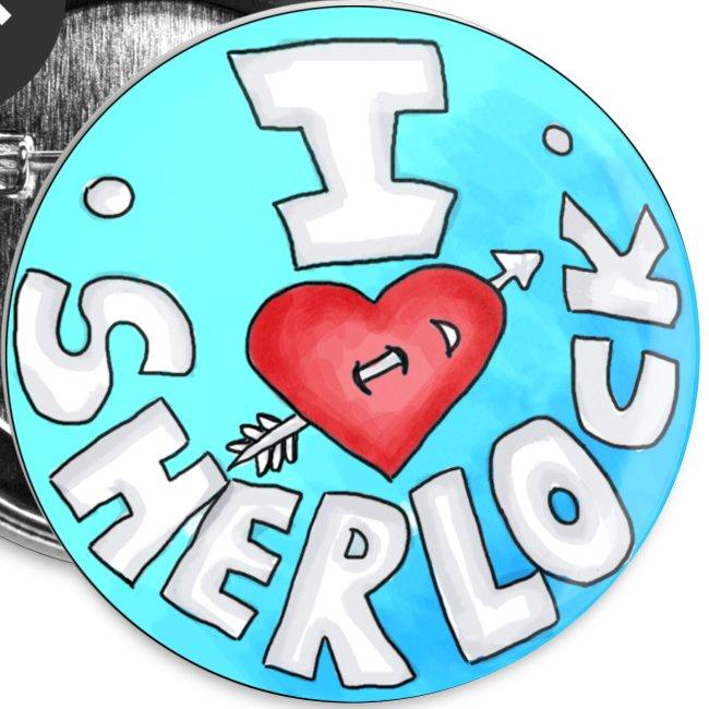 Button - I love SHERLOCK