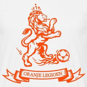 Holland Orange Legion Lion euro football World Championship jersey T-Shirts - Men's T-Shirt