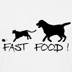 Fast food ! - T-shirt Homme