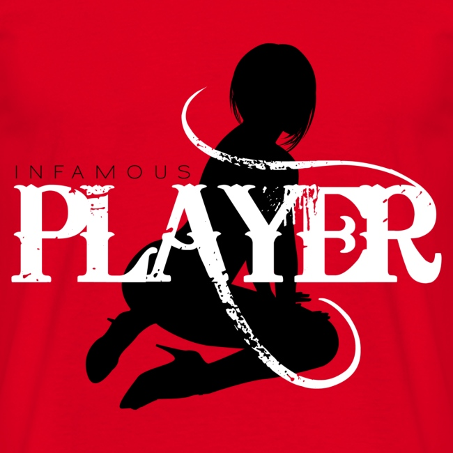Infamous Player T Shirt 09
