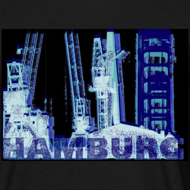 Hamburger Hafen Künstler-Motiv