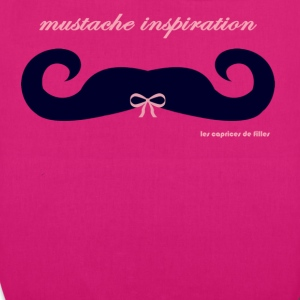 moustache ruban rose - EarthPositive Tote Bag